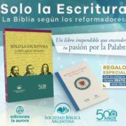 Libro Solo la Escritura Sociedad Bíblica Argentina